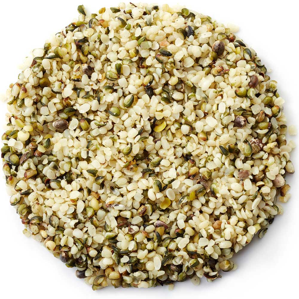 Home Grown Raw Shelled Hemp Seeds