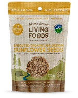 Sprouted Sunflower Seeds