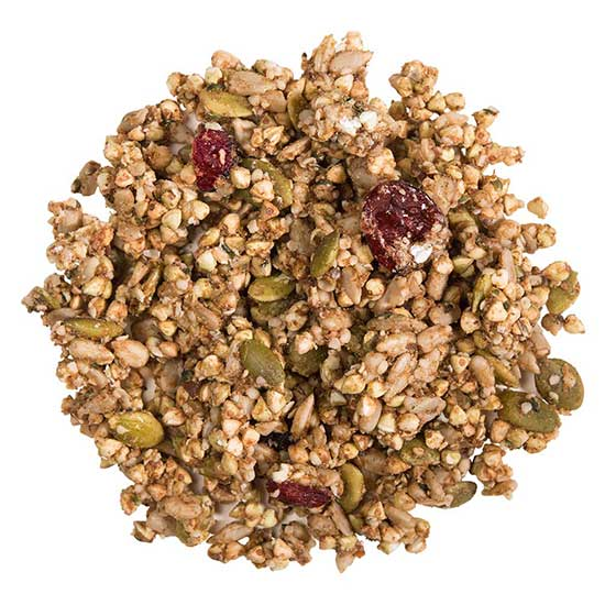 hOMe Grown Living Foods Hemp Chia Cranberry Buckwheaties