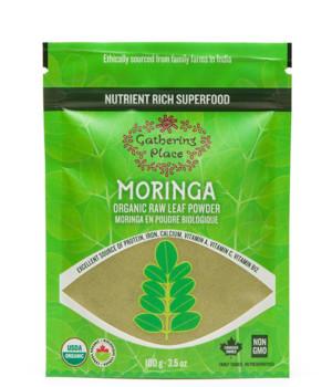 Gathering Place Organic Raw Leaf Moringa Powder