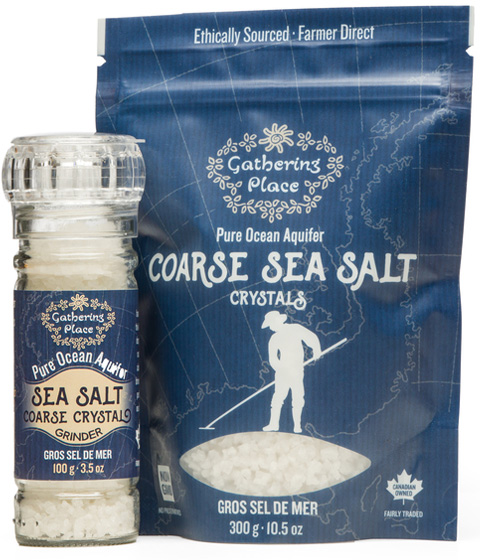 Gathering Place Pure Ocean Aquifer Coarse Sea Salt