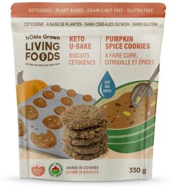 U Bake Keto Pumpkin Spice Cookies