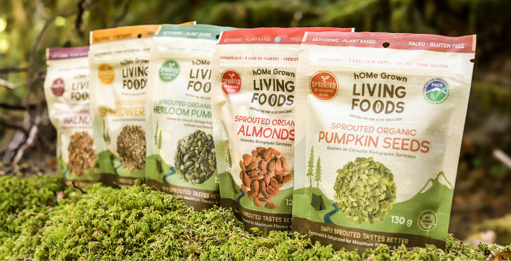 hOMe Grown Living Foods Sprouted Organic Products