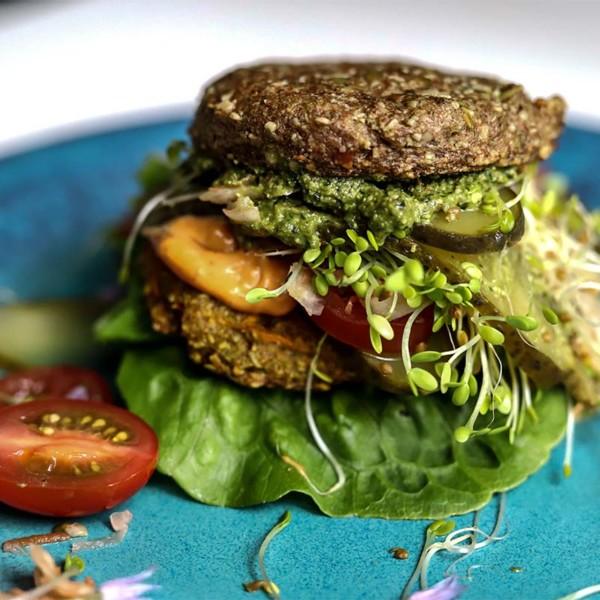 keto veggie burger