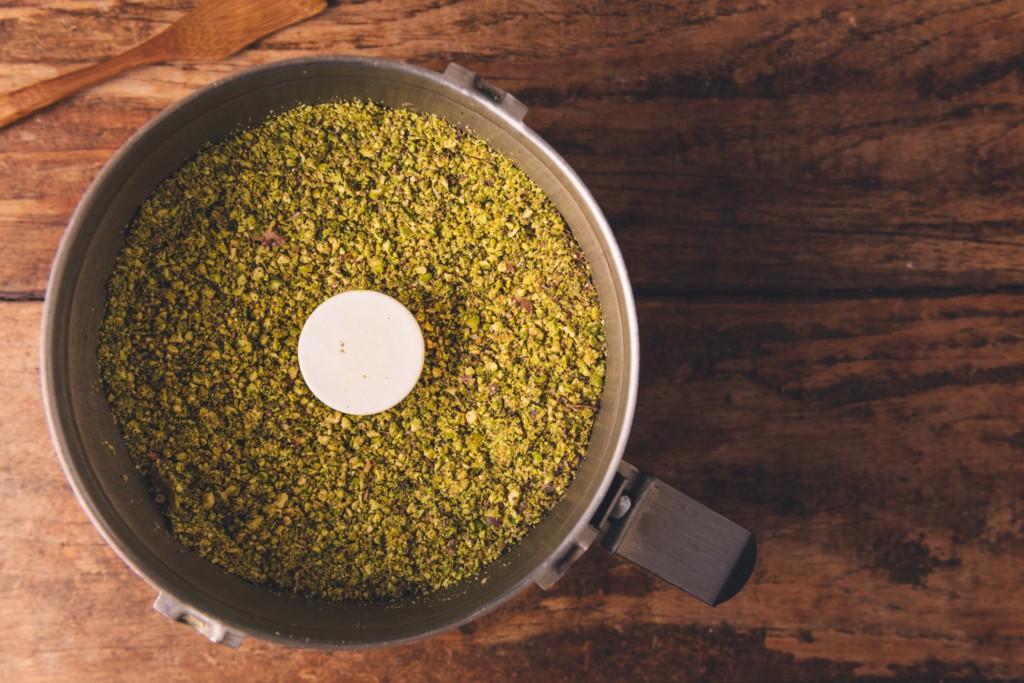 blended pistachios