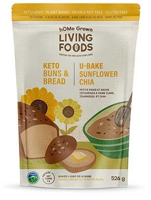 hOMe Grown Living Foods Keto Bread package