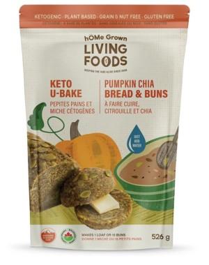 U Bake Keto Pumpkin Chia Bread